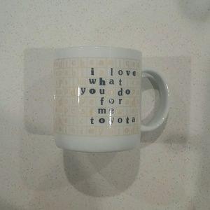 Other - Toyota mug